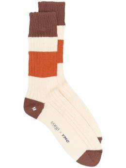 Ymc носки в стиле колор-блок из коллаборации с Corgi QPPAB