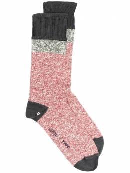 Ymc носки в стиле колор-блок из коллаборации с Corgi QPPAA