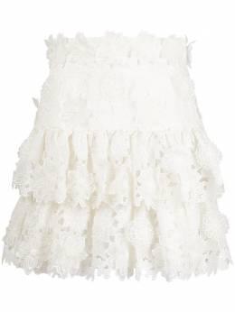 Zimmermann юбка мини Lovestruck 9859SAND