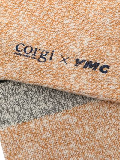 Ymc меланжевые носки из коллаборации с Corgi QPPAA - 2