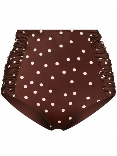 Johanna Ortiz Volcano polka dot print bikini bottoms VOLCANO - 1