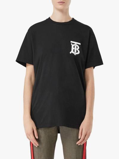 Burberry TB logo T-shirt 8017472 - 3