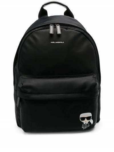 Karl Lagerfeld K/Ikonik nylon backpack 210W3041999 - 1