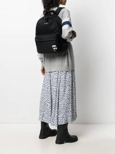 Karl Lagerfeld K/Ikonik nylon backpack 210W3041999 - 2