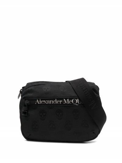 Alexander McQueen поясная сумка с логотипом 6255121AAAK - 1