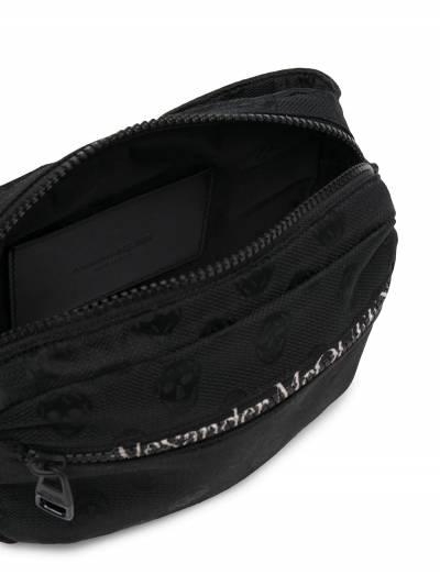 Alexander McQueen поясная сумка с логотипом 6255121AAAK - 5