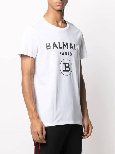 Balmain футболка с логотипом VH1EF000B066 - 3