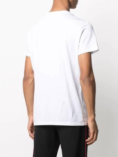 Balmain футболка с логотипом VH1EF000B066 - 4