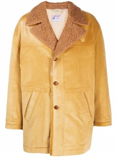 Marni corduroy single breasted coat TUMU0074QUS49356 - 1