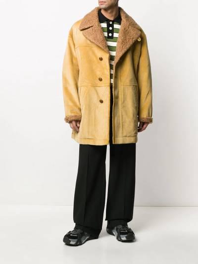 Marni corduroy single breasted coat TUMU0074QUS49356 - 2