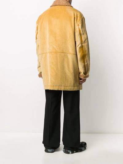 Marni corduroy single breasted coat TUMU0074QUS49356 - 4