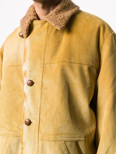 Marni corduroy single breasted coat TUMU0074QUS49356 - 5