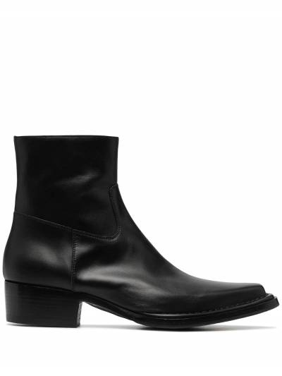 Acne Studios square-toe ankle boots BD0144 - 1