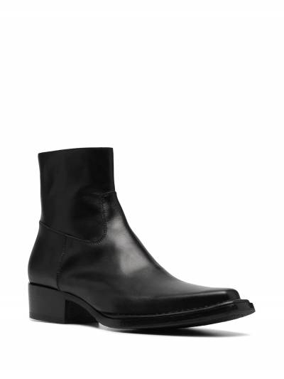 Acne Studios square-toe ankle boots BD0144 - 2