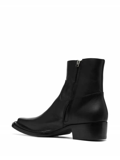 Acne Studios square-toe ankle boots BD0144 - 3