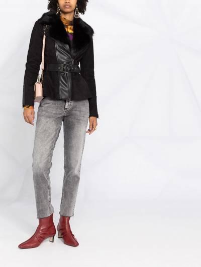 Liu Jo прямые джинсы с заниженной талией UF0034D4528 - 2