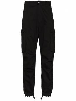 Neighborhood прямые брюки с эластичными манжетами 202YTNHPTM01