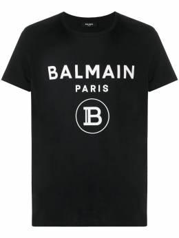 Balmain футболка с логотипом VH1EF000B029