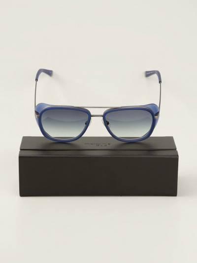 Matsuda солнцезащитные очки в квадратной оправе M3023 - 3
