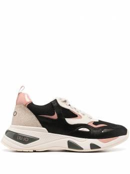 Liu Jo кроссовки на шнуровке со вставками BF0017PX096