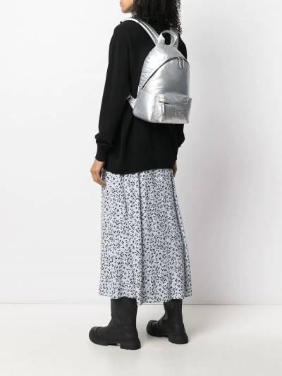 Karl Lagerfeld K/Ikonik metallic backpack 210W3008290 - 2