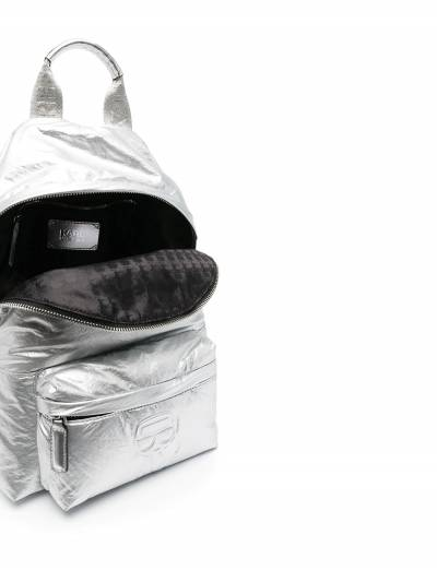 Karl Lagerfeld K/Ikonik metallic backpack 210W3008290 - 5