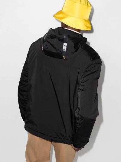 Fendi куртка на молнии с капюшоном и логотипом FAA750AE4S - 3