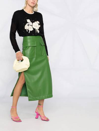 Twin-Set embroidered floral-detail jumper 202TP3430 - 2