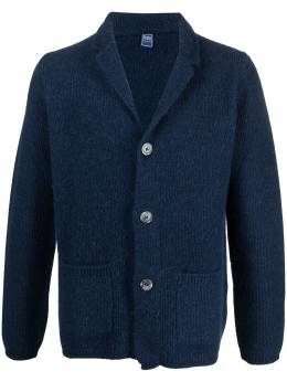 Fedeli V-neck knitted cardigan 3UI080360