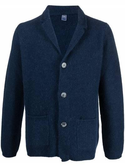 Fedeli V-neck knitted cardigan 3UI080360 - 1