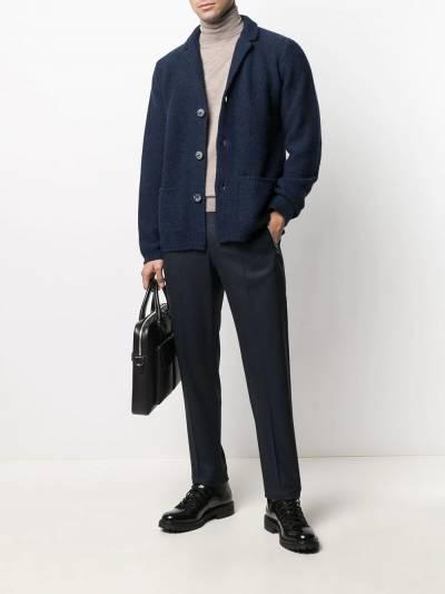 Fedeli V-neck knitted cardigan 3UI080360 - 2