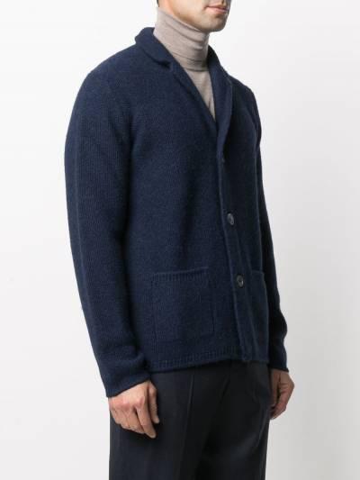 Fedeli V-neck knitted cardigan 3UI080360 - 3