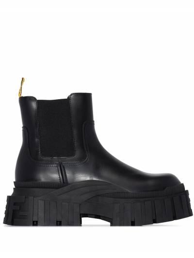 Fendi Black Force chunky chelsea boots 7U1394AD7Q - 1