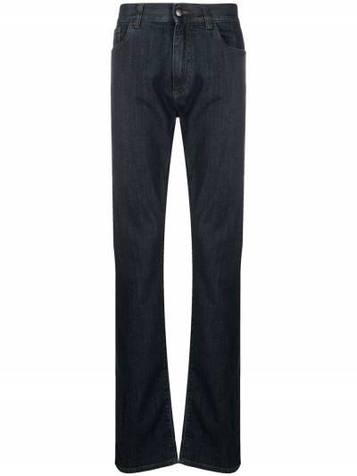 Canali прямые джинсы средней посадки 91700PD00018 - 1