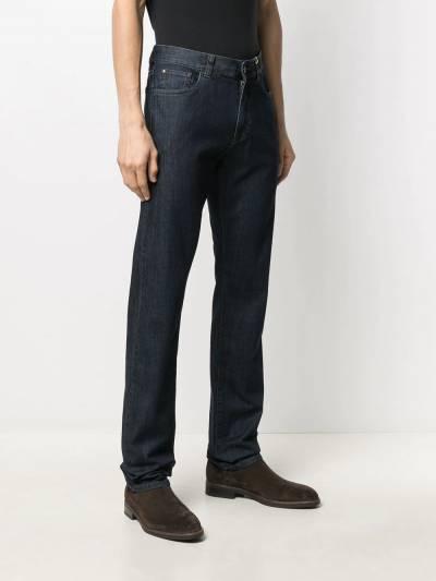 Canali прямые джинсы средней посадки 91700PD00018 - 3