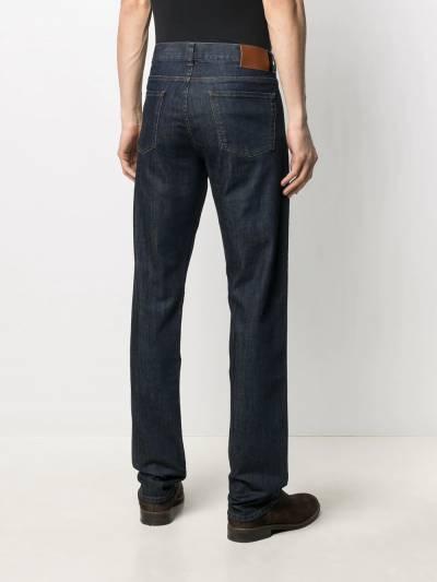 Canali прямые джинсы средней посадки 91700PD00018 - 4