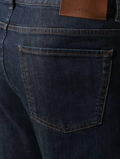 Canali прямые джинсы средней посадки 91700PD00018 - 5