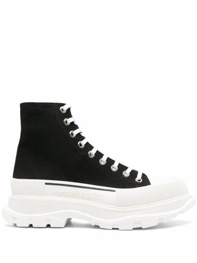 Alexander McQueen высокие кроссовки 604254W4L32 - 1