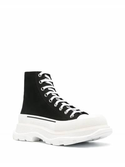Alexander McQueen высокие кроссовки 604254W4L32 - 2