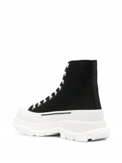 Alexander McQueen высокие кроссовки 604254W4L32 - 3