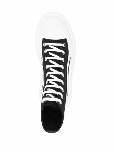 Alexander McQueen высокие кроссовки 604254W4L32 - 4