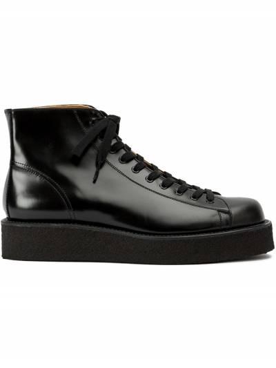 Yohji Yamamoto ботинки на шнуровке HRE537641 - 1