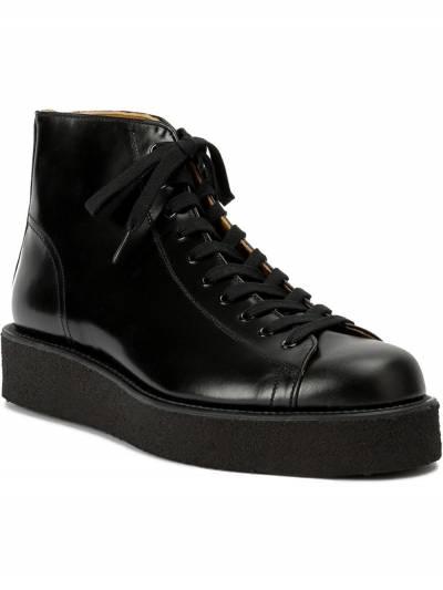 Yohji Yamamoto ботинки на шнуровке HRE537641 - 2