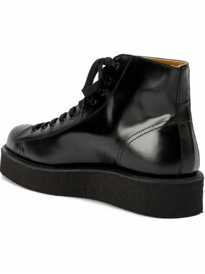 Yohji Yamamoto ботинки на шнуровке HRE537641 - 3