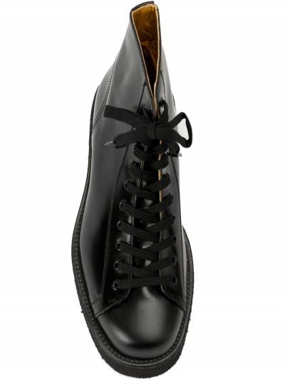 Yohji Yamamoto ботинки на шнуровке HRE537641 - 4