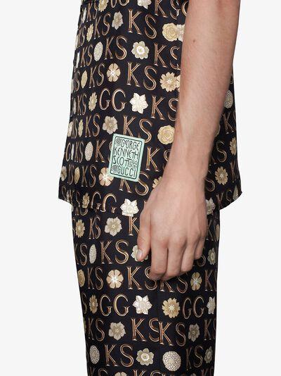 Gucci x Ken Scott logo-print shirt 644427ZAGAR - 5