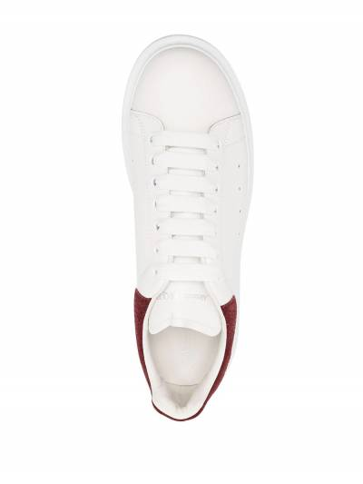Alexander McQueen Oversized low-top sneakers 625162WHZ4K9088 - 4