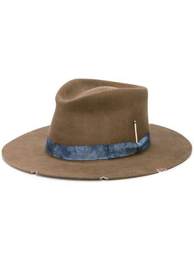 Nick Fouquet шляпа Whiskey Springs с эффектом потертости 517 - 1