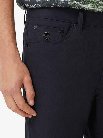Burberry узкие джинсы средней посадки 8036878 - 5
