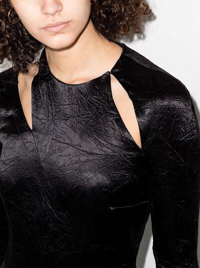 16Arlington атласное платье миди Ursina D114SS21BLK - 4